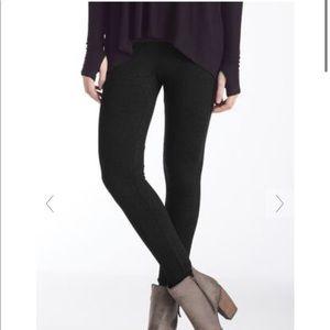 Matty M black leggings, size small